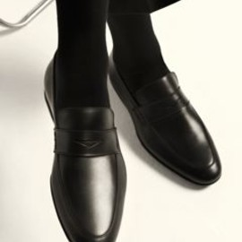 Harry of London - Black Downing Loafer