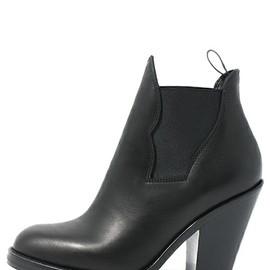 Acne - Star leather ankle boots