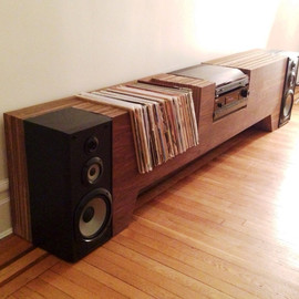 cushdesignstudio - Ultimate Record Player Console