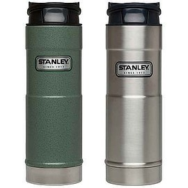 stanley - Stanley Insulated One Hand Vacuum Mug 2p Set Green/Stainless Steel 16oz/473ml
