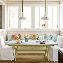 breakfast nook from Southernliving