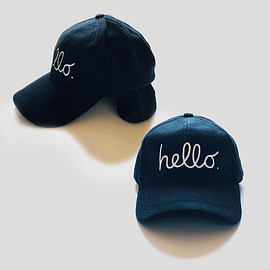 83 original - hello Fleece CAP Earflaps - Apple Ver. -