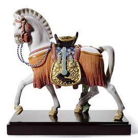 LLADRO - リヤドロ「THE WHITE HORSE OF HOPE」
