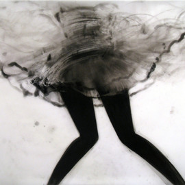 Cathy Daley - Untitled 819 (from the Dance Series), 2011, Oil Pastel on Vellum