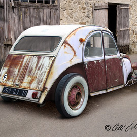 CITROEN - 2CV Customized HOT ROD 錆シトロエン