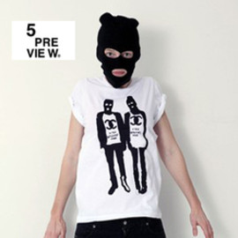 5preview - FIGURINI print t-shirt