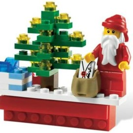 LEGO - Happy Holidays Magnet