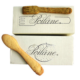 Poilâne  - Curry flavoured forks and sweet shortbread spoons