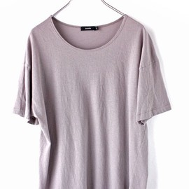 bassike - hemmed neck relaxed t.shirt