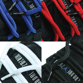 FULLY LACED - XI ROPE LACES (Blue, Red, White & Black)