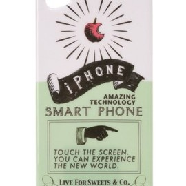 LIVE FOR SWEETS. - [限定] iPhone cover