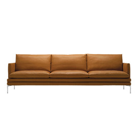 ZANOTTA - WILLIAM SOFA 266CM LEATHER 99