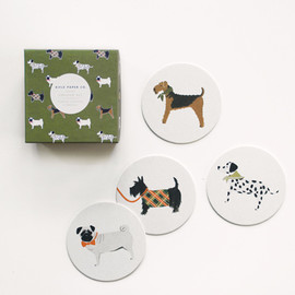 Canine Coaster Set