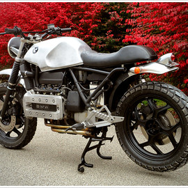 BMW - K100RT scrambler