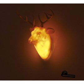 Hunting Trophy DOOR LIGHT  Yellow/Deer
