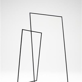 phillips - thin black lines hanger/ nendo