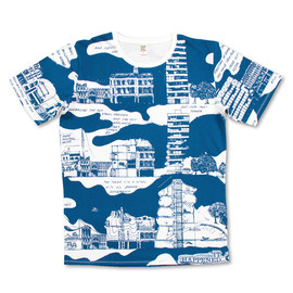 graniph - Archigram Short Sleeve B(Archigram Design #46)