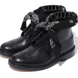 SWAGGER - TRICKER'S x SWAGGER 7HOLE WING TIP BOOTS