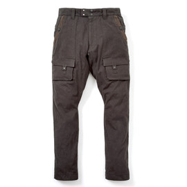 White Mountaineering - COTTON DUCK USED LUGGAGE JODHPUR PANTS