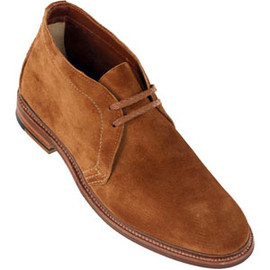 ALDEN - Men's Unlined Chukka Boot Flex Welt Suede