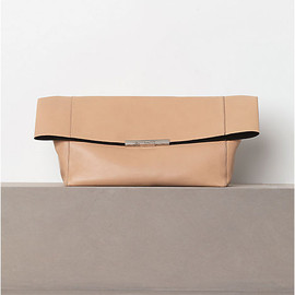 CELINE - FOLDED CLUTCH IN CALFSKIN NUDE