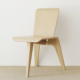 nextmaruni - Chair - 3 leg by Tamotsu Yagi