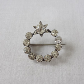 antique brooche  -star