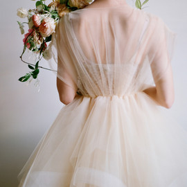 The Carlee Gown by Chaviano Couture - a poetic wedding dress