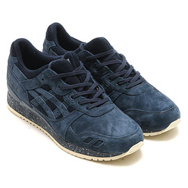 asics - Tiger×REIGNING CHAMP GEL-LYTE III NAVY/NAVY