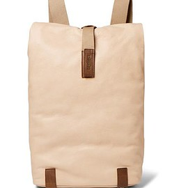 Brooks England - Pickwick Small Washed-Leather Backpack