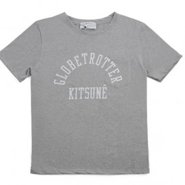 kitsune - KITSUNE R-NECK POCKET TEE