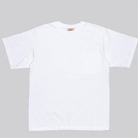 Goodwear - S/S Crew Neck Pocket Tee-White