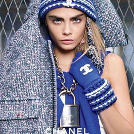 CHANEL - Cara Delevingne for Chanel.