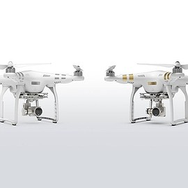 DJI - phantom 3 professional and advanced drones