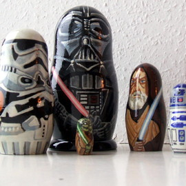 Star Wars Matryoshka Dolls