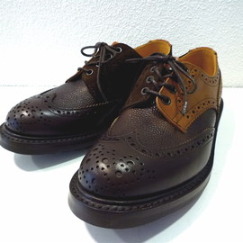 Tricker's × NEPENTHES - Wing Tip Shoes