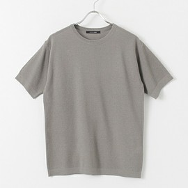 URBAN RESEARCH DOORS - ひきあげ編み Knit Tee