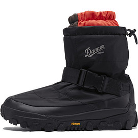 Danner, NANGA - Freddo Over Boots - Black/Red