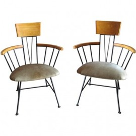 Pair Of 1950's Side Chairs By: PAUL McCOBB.