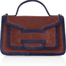 Pierre Hardy - Two-tone suede tote