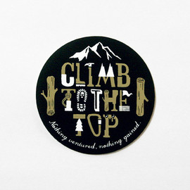 hatch - sticker / CLIMB TO THE TOP