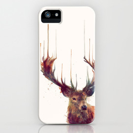 Society6 - Red Deer // Stag iPhone & iPod Case