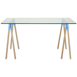 CIBONE - Trestle DESK glass