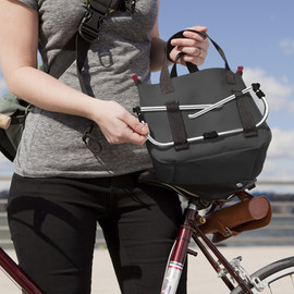 quirky - Rider - the portable bike basket