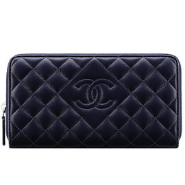 CHANEL - navy blue/wallet