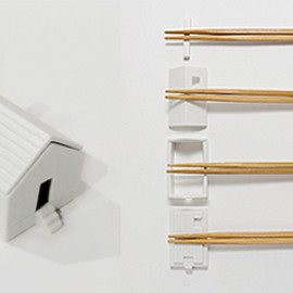 224 porcelain - house for chopsticks