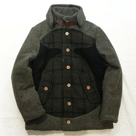 COSMIC WONDER Light Source - Harris Tweed Blouson