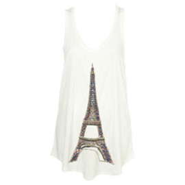 TOPSHOP - Beaded Eiffel Tower Vest