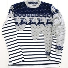 Liquid Knit -vintage- For COMME des GARÇONS - Vintage Snow Flake MAN