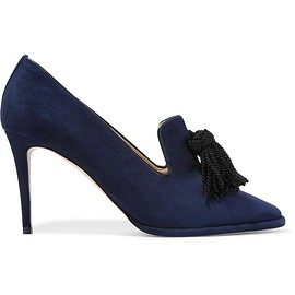 Jimmy Choo - Dustine tasseled suede pumps